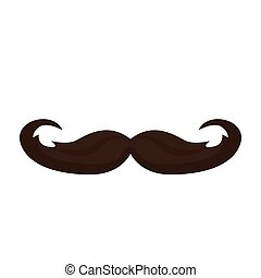 vindima, branca, isolado, fundo, moustage