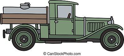 vindima, caminhão tanque