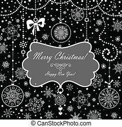 vindima, cartão natal