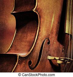 vindima, cello, fundo