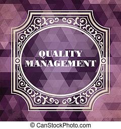 vindima, conceito, gerência, qualidade, desenho