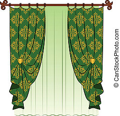 vindima, curtain.