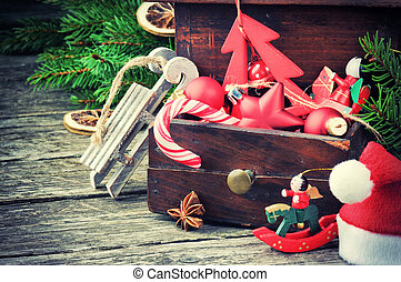 vindima, decorações natal