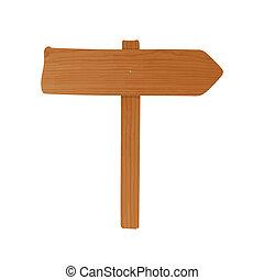 vindima, guideboard, feito, de, prancha madeira, e, polaco,...