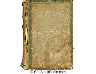vindima, livro, antigas, cobertura