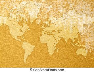 vindima, mapa mundial