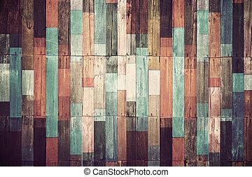 vindima, material, papel parede, madeira, fundo