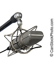 vindima, microfone plataforma