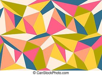 vindima, padrão geométrico