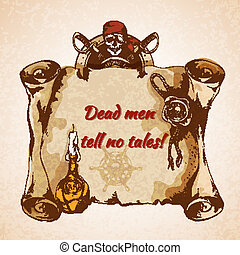 vindima, piratas, fundo