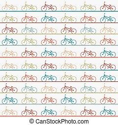 vindima, retro, bicicleta, fundo