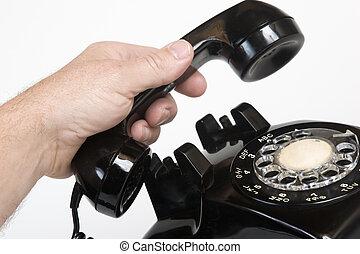 vindima, telefone, 1960s