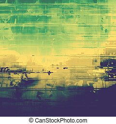 vindima, textura, ideal, para, retro, backgrounds., com, diferente, cor, patterns:, green;, brown;, blue;, amarela, (beige)