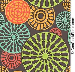 vindima, tribal, geomã©´ricas, seamless, padrões