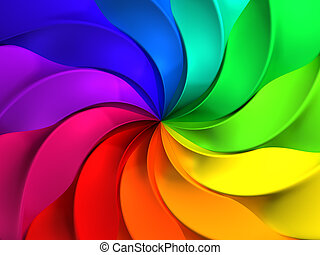 vindmølle, mønster, abstrakt, farverig, baggrund