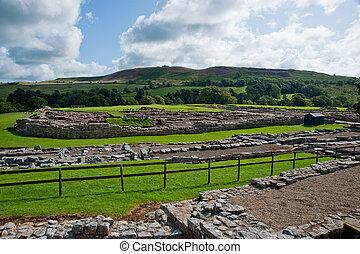 Vindolanda ruins