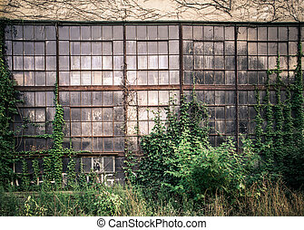 vinduer, industriel
