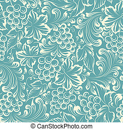 Vine background. - Vine seamless background. Vector ...