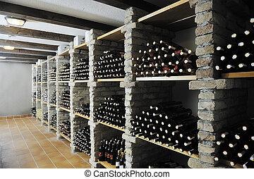 vine bottles
