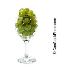 vine in glass