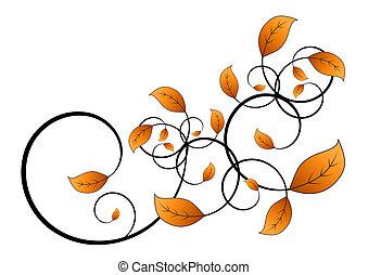 vine leaf - flora vine leaf isolated on white background