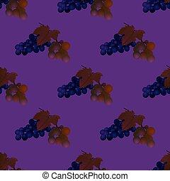 Vine seamless background