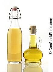 Vinegar and Cooking Oil