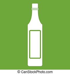 Vinegar bottle icon green