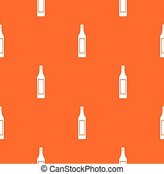 Vinegar bottle pattern seamless - Vinegar bottle pattern...