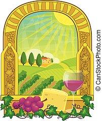 Vineyard Clip-art