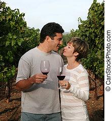 vingård, par