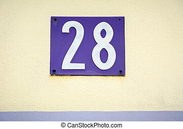 vingt, huit, nombre