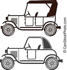 vinhøst, automobil