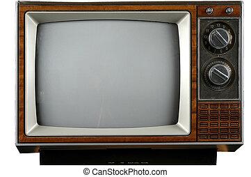 vinhøst, fjernsynet