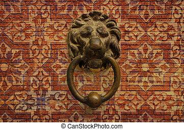 vinhøst, løve, doorbell