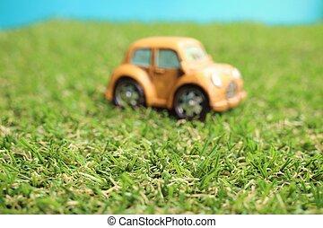 vinhøst, legetøj modeller, bilerne
