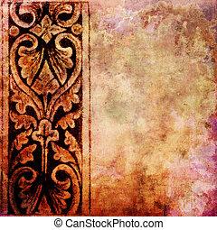 vinhøst, tekstur, hos, arealet, by, tekst, eller, image