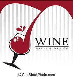 vinho, desenho