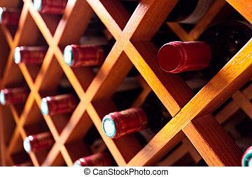 vinho, gabinete