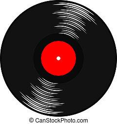 vinil, gramophone, registro