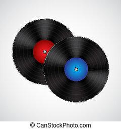 dischi vinile colorito dischi disegno vinile fondo