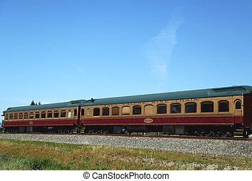 vino, california, napa, tren