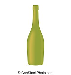 vino, diseño, alcohol, botella de vidrio