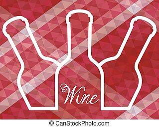 vino, disegno