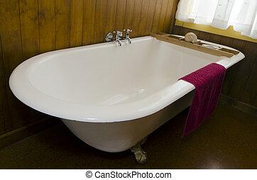 vinobraní, dávný, koupel