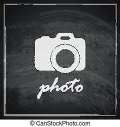 vinobraní, ilustrace, firma, kamera, grafické pozadí, tabule