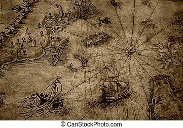 vinobraní, map.