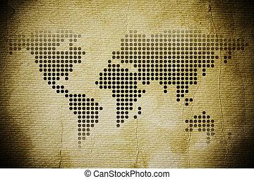 vinobraní, mapa