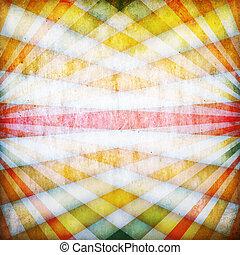 Vinrage background with crossed beams
