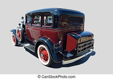 Vintage 1932 automobile - classic 1932 car at show in...
